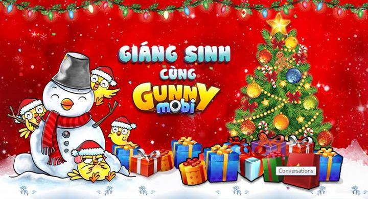Mua zing xu đón giáng sinh cùng game Gunny 2