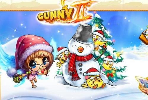 Mua zing xu đón giáng sinh cùng game Gunny
