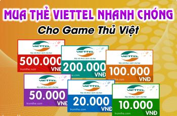 Mua thẻ Viettel bằng Paypal ở nước ngoài