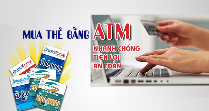Mua thẻ điện thoại bằng tài khoản ngân hàng, tại sao không?