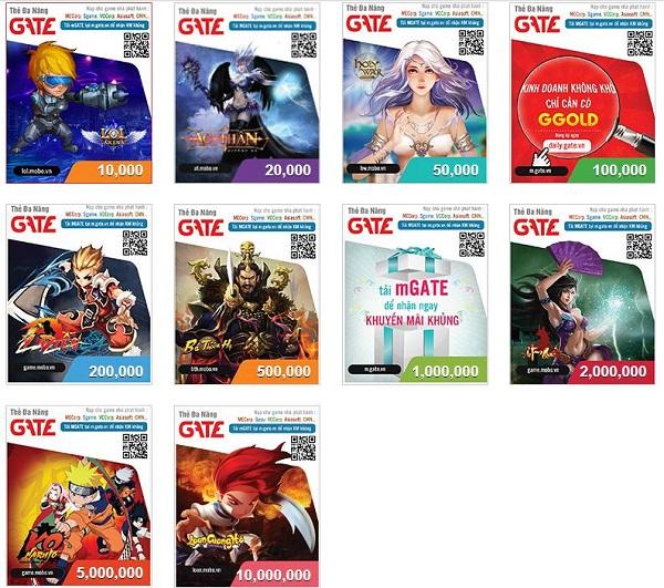 Mua thẻ gate online siêu nhanh - 1