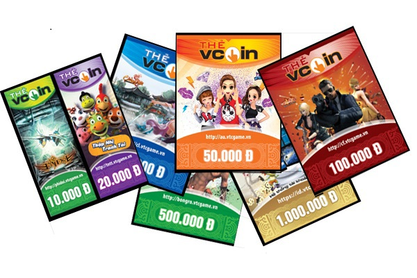 thẻ vcoin online