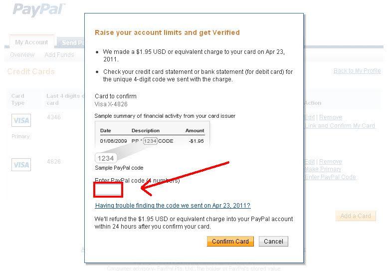 Làm thế nào Verified được tài khoản paypal h4