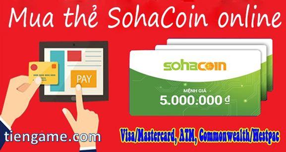 Địa chỉ mua thẻ Sohacoin chiết khấu cao