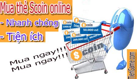 Địa chỉ mua thẻ Scoin online uy tín giá tốt