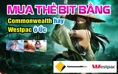 Mua thẻ BIT nhanh chóng ở Úc