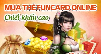 Mua thẻ Funcard nhận chiết khấu cao
