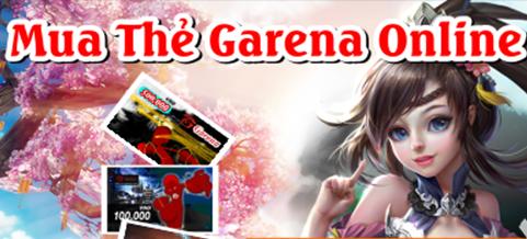 Ngạc nhiên với 4 lợi ích lớn khi mua thẻ Garena Online