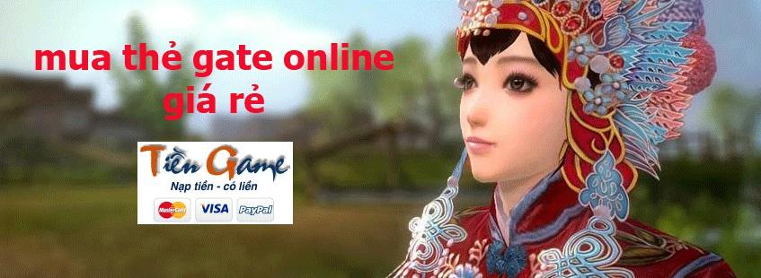 mua thẻ gate online tại Tiengame.com