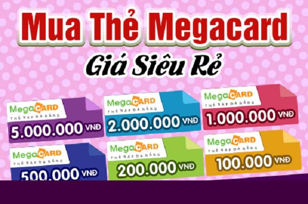 mua thẻ megacard giá siêu rẽ