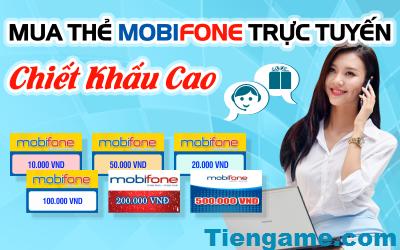 Mua thẻ mobifone online tại tiengame