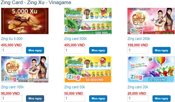 Tìm hiểu cách mua thẻ zing online an toàn game thủ cần biết 2