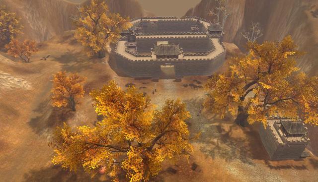 Qua Ải Nhạn Môn Quan của game Tân Thiên Long 3D