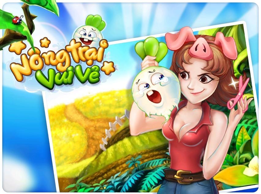 Nông Trại Vui Vẻ vẫn hút hồn người chơi trên mạng xã hội Việt