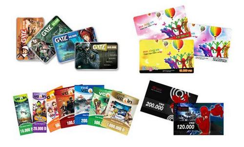 Mua thẻ gate online giá rẻ tại Tiền Game