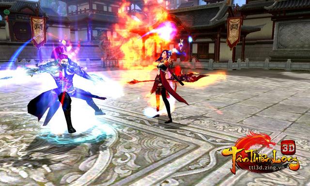 Qua Ải Nhạn Môn Quan của game Tân Thiên Long 3D 2