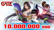 Thẻ Gate 10 triệu - Mệnh giá lớn nhất hiện nay tại Tiengame.com