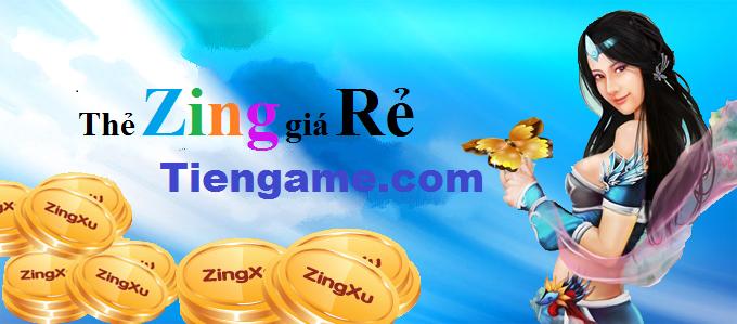 Thẻ zing xu giá rẽ tại tiengame.com